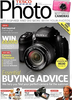 "Tesco's ""Photo"" magazine cover Issue 1"