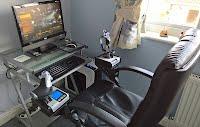 HOTAS Chair Mounts (3D Printing)