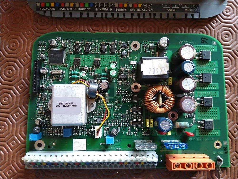 Raymarine SmartPilot S1 Circuit Board